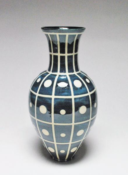 Tall Patterned Vase
