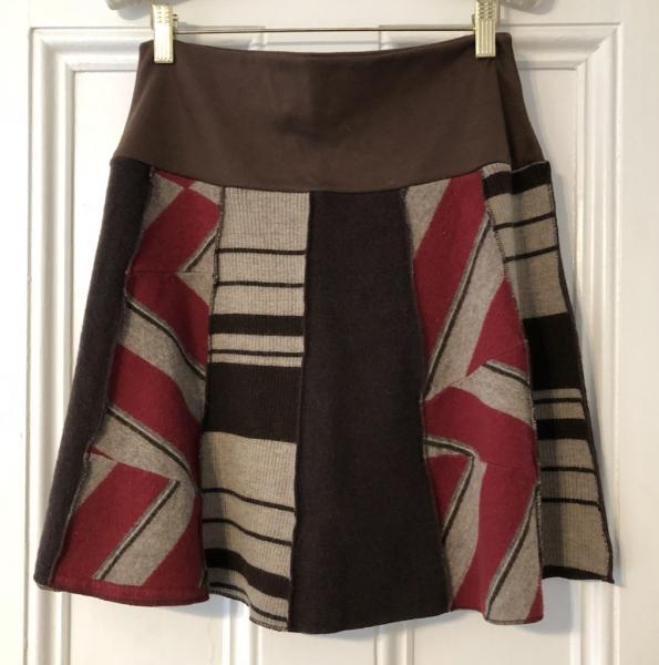 Wool Skirt Short-2 picture