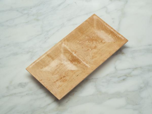 Birdseye Maple Jewelry Dish or Valet Tray