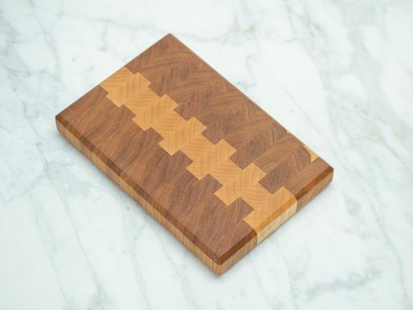 Cherry and Maple End Grain Cutting Board - Mini