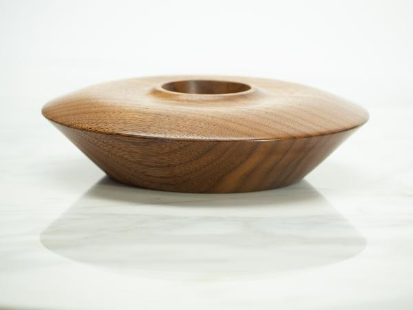 Walnut Bowl, Crystal/Sphere Holder picture