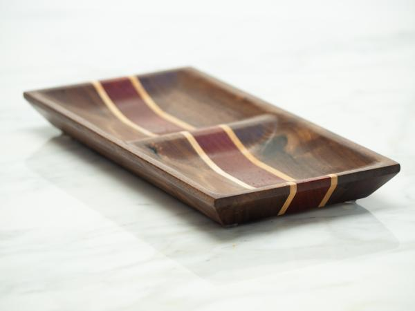 Walnut/Maple/Padauk Jewelry Dish, Catch-all