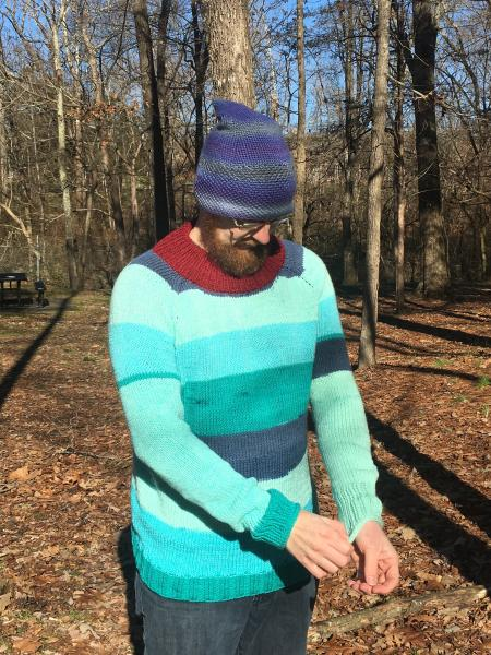 Winter Raglan Sweater