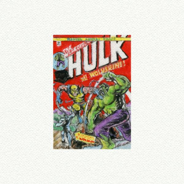 Hulk Comic Book