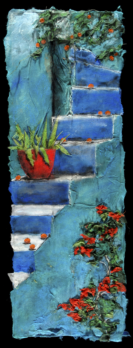 Greek Steps - giclee print