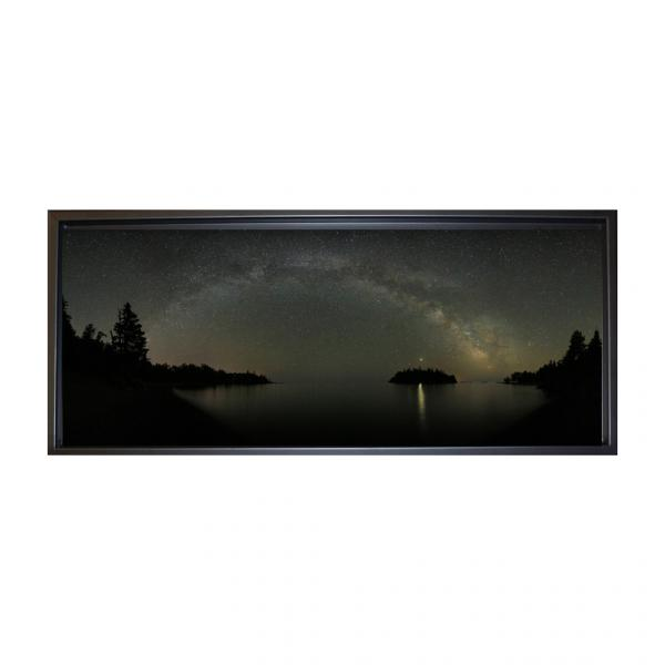Infinity and Beyond - panoramic framed Canvas
