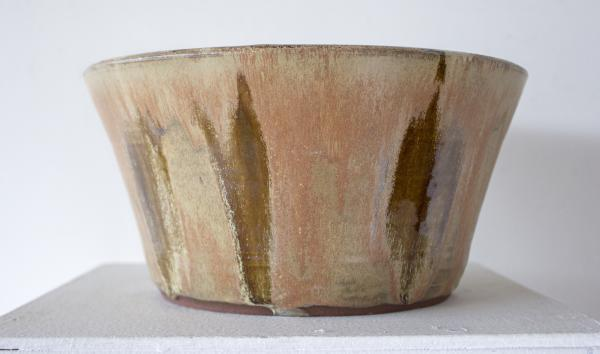 Goldtone Brown Bowl