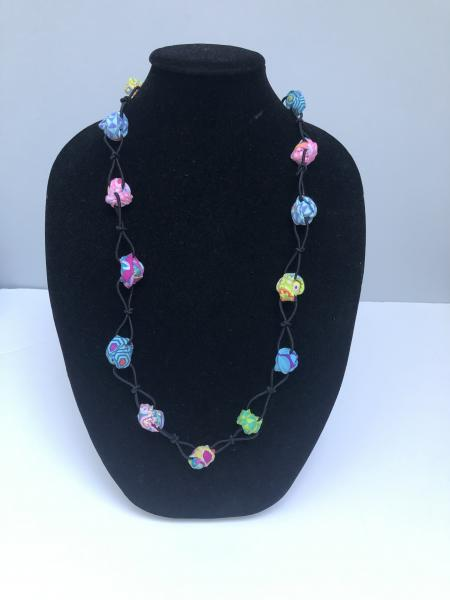 Colorful Pastel Gumball Necklace picture