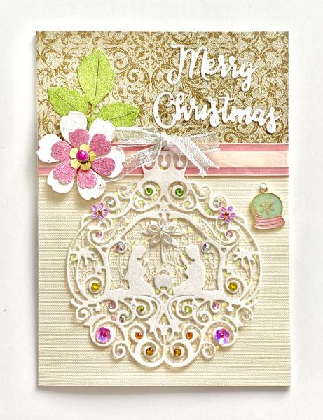 Christmas Card with Charm
