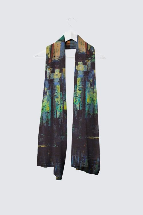 """Reflections"" -- Designer Scarf"