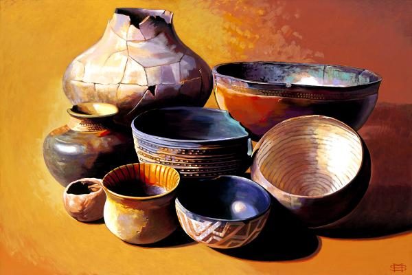 Native American Pottery picture
