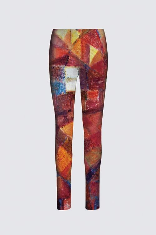 """Moments"" -- Designer Stretch Pants"