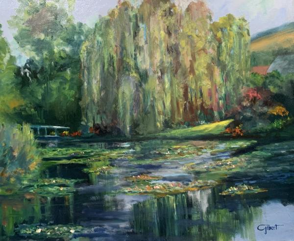 Monet's Bridge and Pond