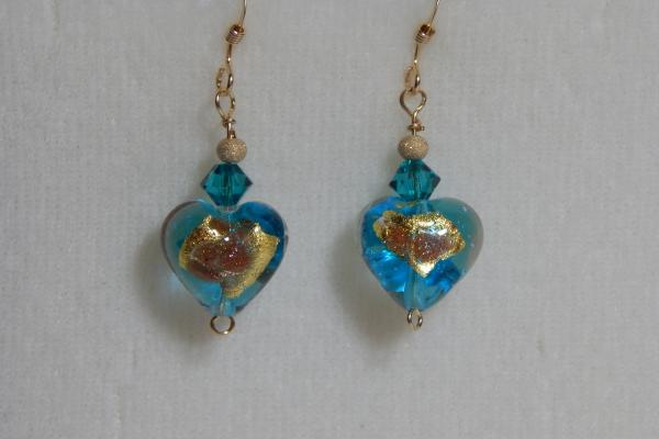 See Options-Venetian Glass Earrings-Many Styles-$16.95 picture