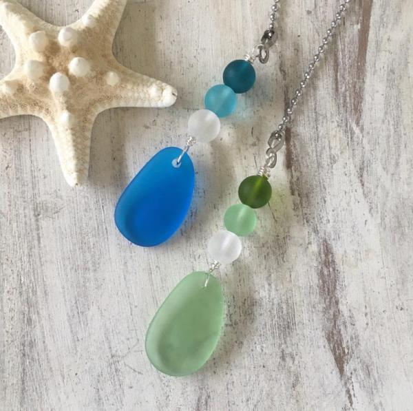 Sea Glass Ceiling Fan or Light Pull