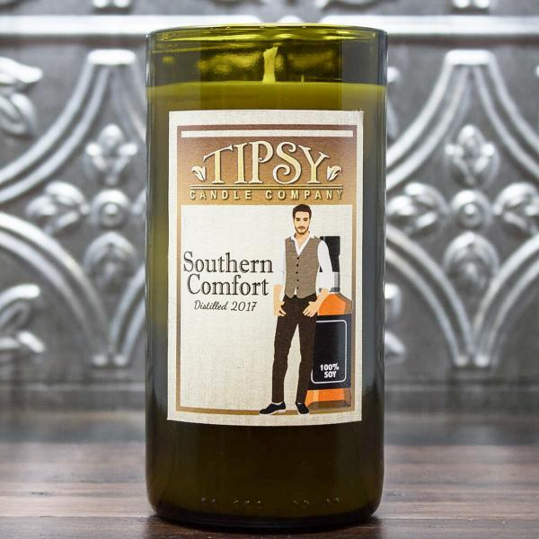 Southern Comfort | Soy Wine Bottle Candle