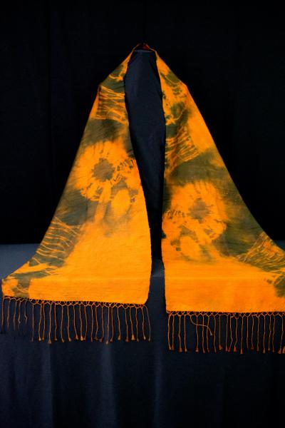 Gold Silk Shawl