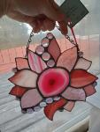 Pink Flower Agate