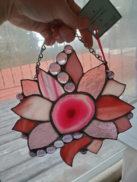 Pink Flower Agate picture