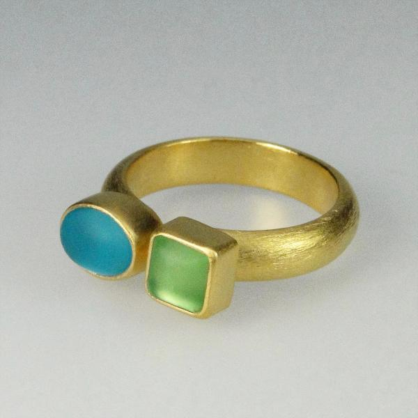 Double Cabochon Ring