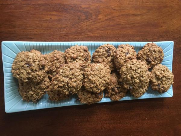 Oatmeal Raisin Pecan Cookies From Karen Green Stone