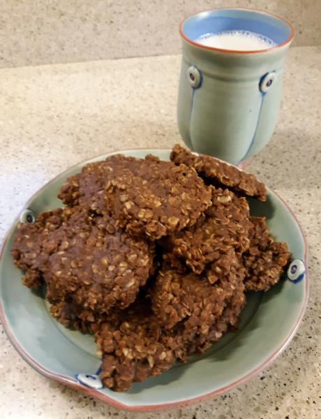 No Bake Cookies-from Rebecca Lowery