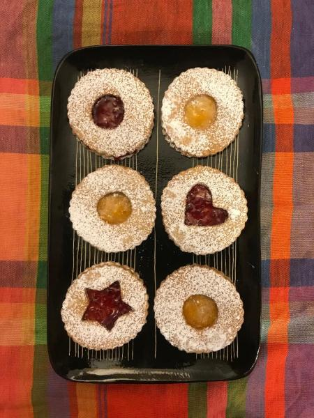 Linzer Cookies from Sarah Mitchell