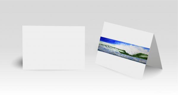 Greeting Cards-Winter Wave