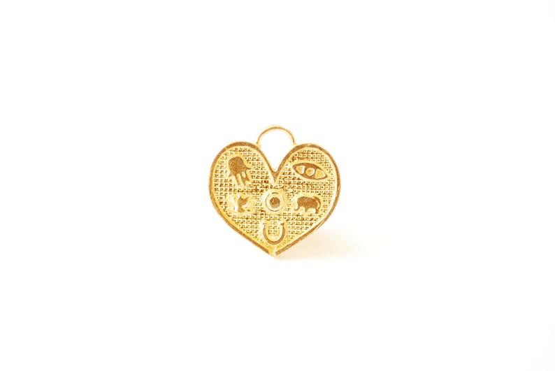 Lucky Padlock Heart Necklace picture