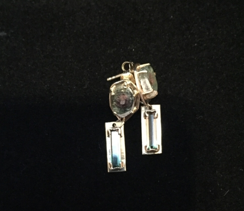 Matched tourmaline studs picture