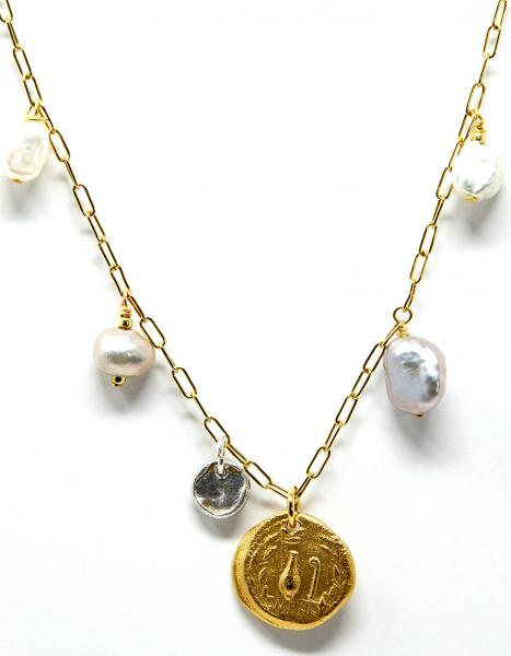 Roman Coin Necklace picture