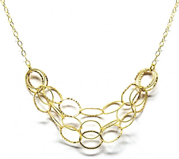 Layered Rings Necklace