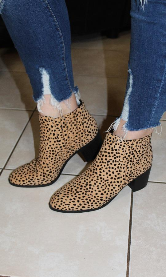 Cheetah Booties picture