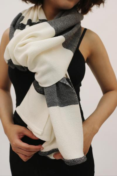 Striped Bamboo Scarf
