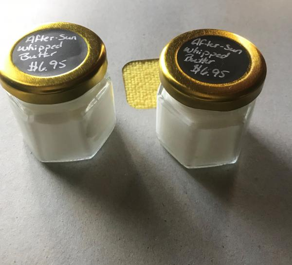 After-Sun Whipped Aloe Butter