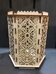 Gothic Throne Room - Hexagon Pillar Holder