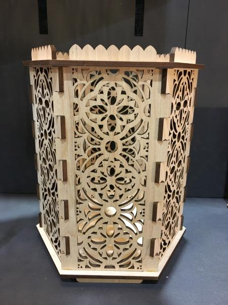 Gothic Throne Room - Hexagon Pillar Holder picture