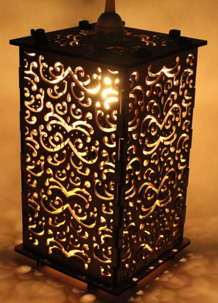 Filigree Patterned Lantern picture