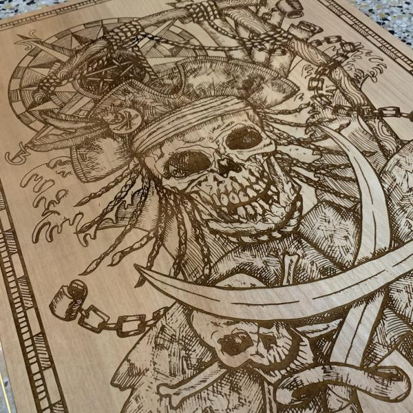 Pirate Etching picture