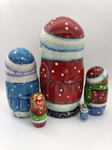 Santa Nesting Dolls 5 peace's picture