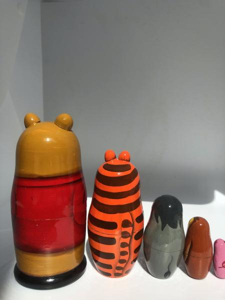 Animals Nesting Dolls 5  peace's picture
