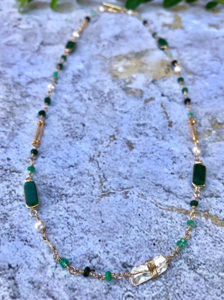 Green Paradise Necklace
