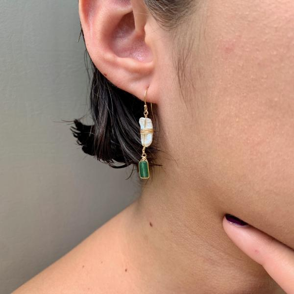 Green Paradise Earrings