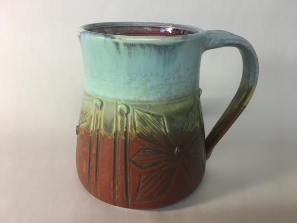 Porcelain Sunset mug #12