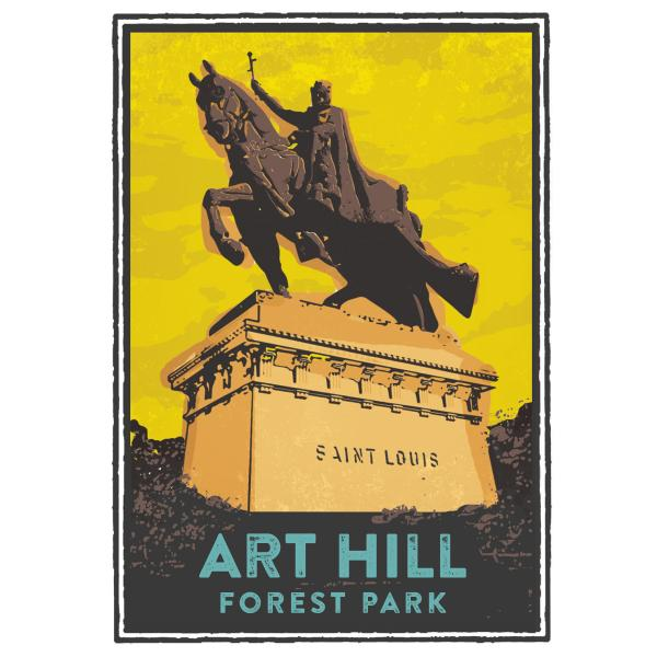 Art Hill in Forest Park