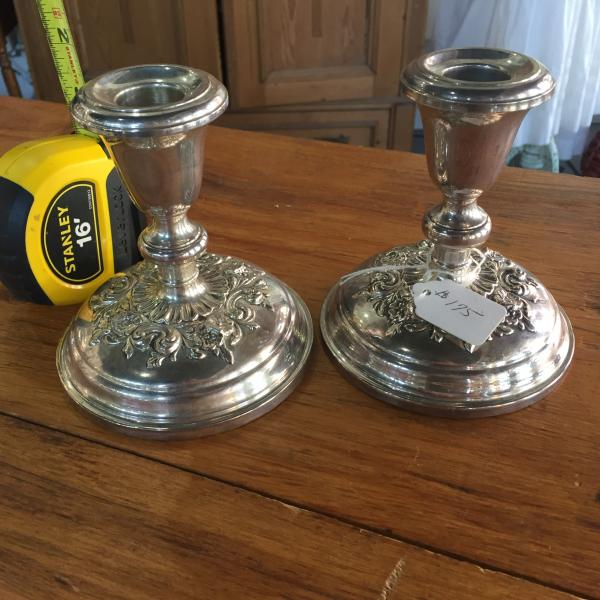 Sterling Candle Sticks