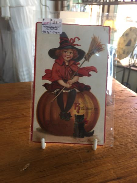 Antique Halloween post card