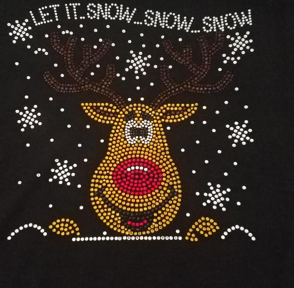 Let it Snow Shirt/Apron