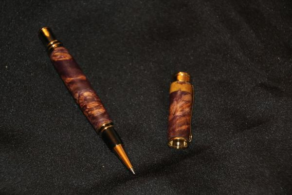 Pen-Executive Roller Ball Pen-Crotch Walnut