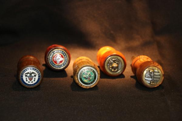 Wine Stoppers Honoring our Military